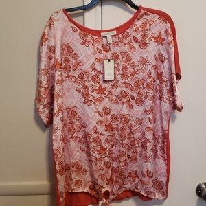 NWT floral Top
